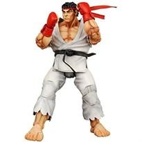 Подвижная Фигурка Рю Стрит Файтер Heilong (Street Fighter Ryu Neca Blue Alternate Costume New) 17 см купить в Москве