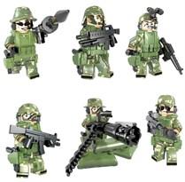 Набор минифигурок Военных совместимых с Лего купить