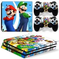Наклейка для PS4 Супер Марио / Super Mario купить в России с доставкой