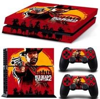Наклейка для PS4 Артур Морган из игры Ред дед редемпшн (Red dead redemption 2) купить в России с доставкой
