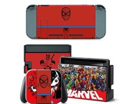Наклейка для игровой консоли Nintendo switch Marvel купить в России с доставкой