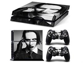 Наклейка для PS4 Мэрилин Мэнсон  купить в России с доставкой