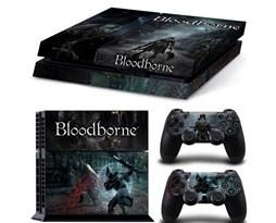 Наклейка для PS4 Порождение крови (Bloodborne) купить в России с доставкой