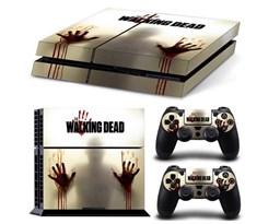 Наклейка для PS4 Ходячие мертвецы (The Walking Dead) купить в России с доставкой