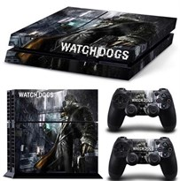 Наклейка для PS4 Сторожевые псы (Watch Dogs) купить в России с доставкой
