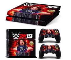 Наклейка для PS4 Рестлеры WWE W2K19 купить в России с доставкой