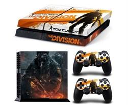 Наклейка для PS4 Том Клэнси (Tom Clancy's The Division) купить в России с доставкой