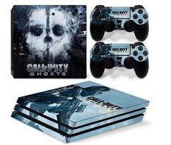 Наклейка для PS4 Pro Калл оф Дьюти (Call of Duty)  купить в России с доставкой
