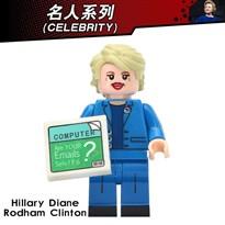 Фигурка совместимая с Lego Хиллари Клинтон