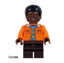 Фигурка совместимая с Lego Лукас