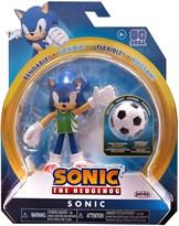 Подвижная фигурка Соник футболист (Sonic The Hedgehog Soccer Wave 3 Action Figure) 10 см