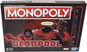 Настольная игра Монополия Дэдпул (Monopoly Game: Marvel Deadpool Edition by Hasbro Gaming)