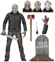 Подвижная фигурка Джейсон Вурхиз (Friday The 13th Part 5 Ultimate Jason Dream Sequence Figure)