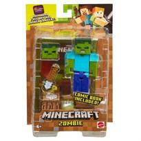 Игрушка Зомби Майнкрафт (Minecraft Comic Mode Zombie Action Figure)