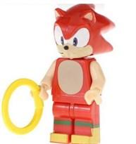 Фигурка совместима с лего Ехидна Наклз (Sonic the Hedgehog Knuckles) купить в России с доставкой