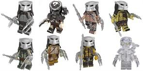 Набор из 8 фигурок совместимых с Лего Хищник (Predator) купить