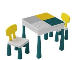 Игровой стол для Лего и 2 стула купить в России с доставкой