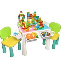 Игровой стол для Лего + 2 стула купить в России с доставкой