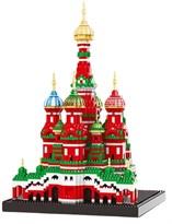 3D конструктор Храм Василия Блаженного купить в России с доставкой