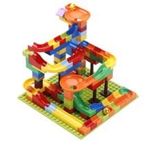 Конструктор лего-стена разноцветные горки (128 деталей) купить в России с доставкой