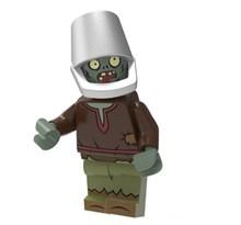 Фигурка совместима с лего Зомби с ведром Plants vs. Zombies купить в России с доставкой