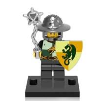 Фигурка совместима с лего Рыцарь с булавой (Dragon Knight) купить в России с доставкой
