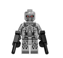 Фигурка совместима с лего Терминатор Т-800 (Terminator) купить в России с доставкой