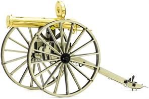 Металлический 3D конструктор Пулемет Гатлинга Дикий Запад (Wild West Gatling Gun Metal Earth) купить оригинал