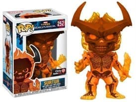 GameStop Exclusive Thor: Ragnarok Surtur Pop!