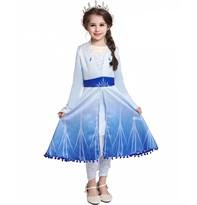 Платье Эльзы из мультфильма Холодное сердце (Frozen) заказать