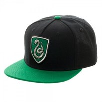 Кепка Слизерин (Harry Potter Slytherin Crest Snapback Green)