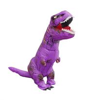 Фиолетовый надувной костюм динозавра Тирекса (T-Rex) купить в России с доставкой