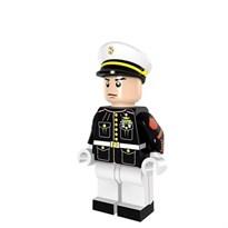 Минифигурка совместима с лего майор морской пехоты Гонгконга