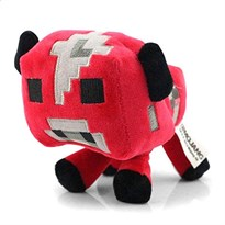 """Плюшевая игрушка """"Minecraft Baby Mooshroom"""" Майнкрафт Детеныш грибной коровы"""