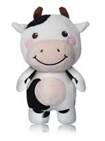 Мягкая игрушка белая Коровка (37 см) купить в России с доставкой