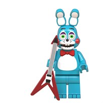 Фигурка Бонни из 5 ночей с Фредди совместима с лего (голубой) купить