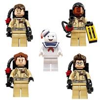 Купить Набор фигурок совместимых с Лего Охотники за привидениями (Ghostbusters)Набор фигурок совместимых с Лего Охотники за привидениями (Ghostbusters)