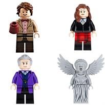 Набор из 4 фигурок совместимых с Лего Доктор Кто (Doctor Who) купить
