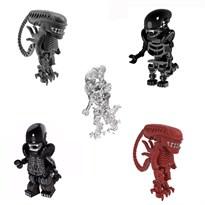 Набор из 5 фигурок совместимых с Лего Чужой (Alien) купить