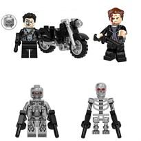 Набор из 4 фигурок совместимых с Лего Терминатор (Terminator) купить