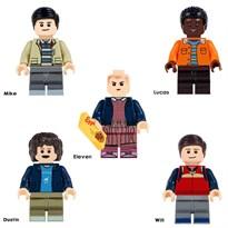 Комплект из 5 фигурок совместимых с Лего Очень странные дела (Stranger Things) купить
