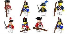 Набор фигурок совместимых с Лего Военные Британской армии купить