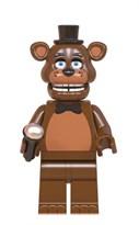 Фигурка Фредди из 5 ночей с Фредди совместима с лего (коричневый) купить