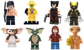 Набор из 8 фигурок совместимых с Лего Герои Фильмов купить