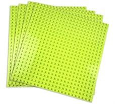 4 зеленые пластины совместимые с лего 38,5 x 38,5 см купить в Москве