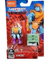 """Конструктор Обманщик Властелин Вселенной (Masters of The Universe Mega Construx Heroes Faker 2"""" Mini-Figure) 19 деталей купить в России"""