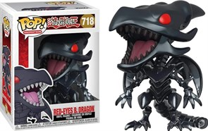 Фигурка красноглазый Черный дракон из аниме Югио (Funko Pop! Animación: Yu-Gi-Oh - Dragón Negro Ojos Rojos) №718 купить в России с доставкой