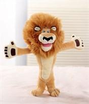 Мягкая игрушка лев Алекс из мультика Мадагаскар купить в Москве