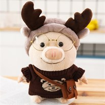 Мягкая игрушка стильная Свинка купить недорого