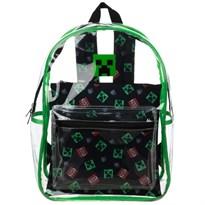 Прозрачный рюкзак Крипер Майнкрафт со съемным сумкой (Minecraft Creeper Clear Backpack with Removable Pouch) купить в России с доставкой
